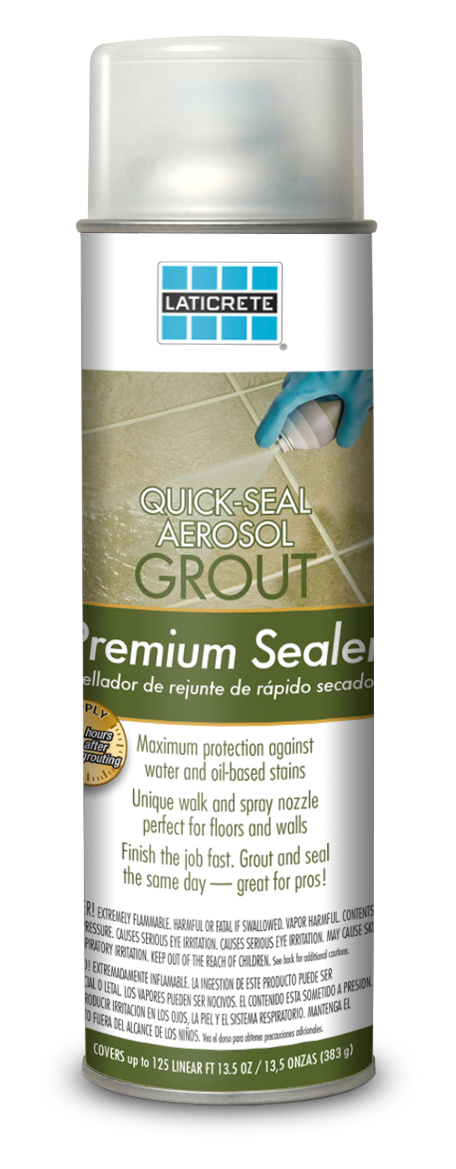 LATICRETE® Quick-Seal Aerosol Grout Sealer