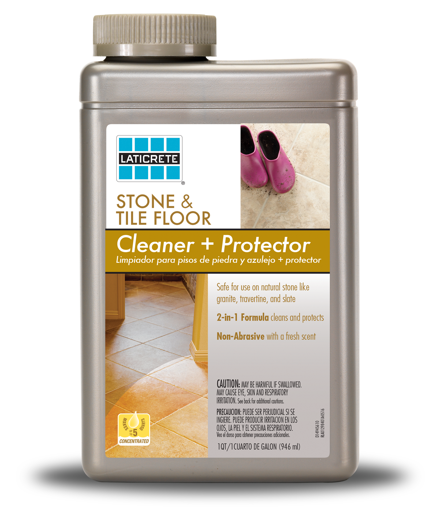 LATICRETE® Stone & Tile Floor Cleaner & Protector