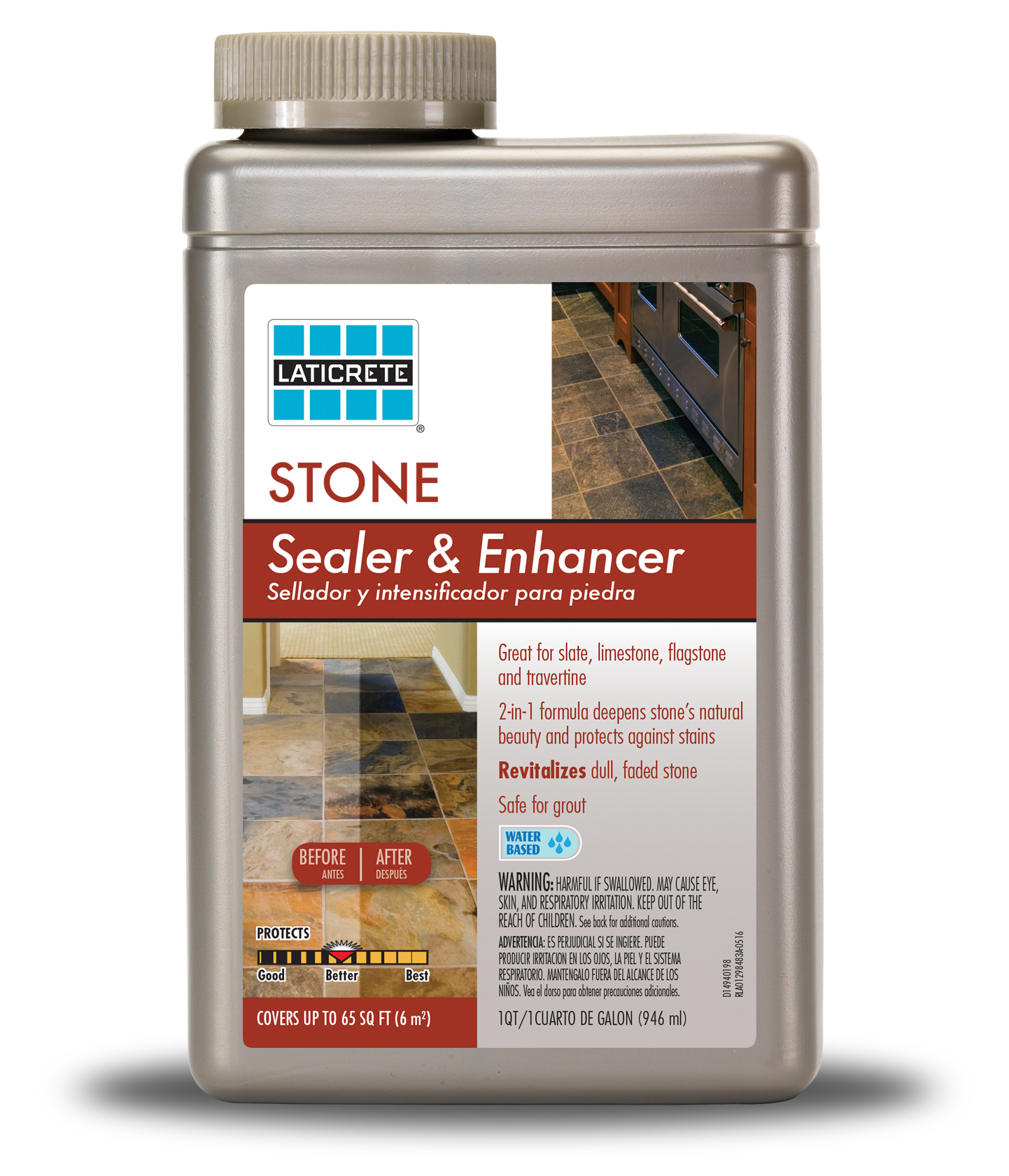 LATICRETE® Stone Sealer & Enhancer