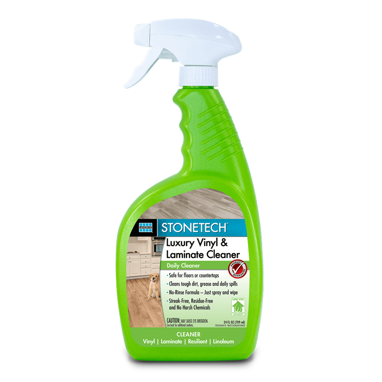 STONETECH Luxury Vinyl  Laminate Cleaner 24oz Spray Bottle