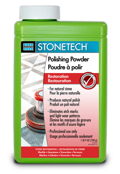 STONETECH Polishing Powder - 1 lb 9 oz - Front Label