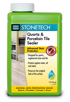 STONETECH_Quartz & Porcelain Tile Sealer_Quart