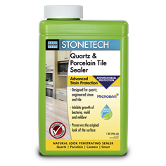 Stonetech Quartz&PorcelainTileSealer_Quart Front Microban