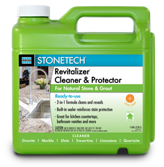 STONETECH_Revitalizer Cleaner & Protector Citrus RTU_Gallon
