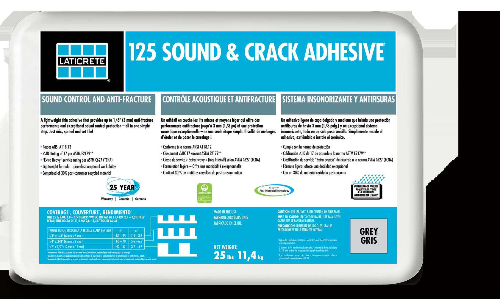 125 Sound & Crack Adhesive