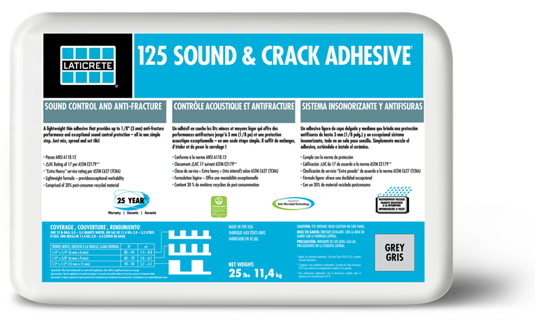 125 Sound & Crack Adhesive