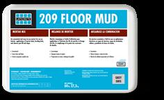 209 Floor Mud