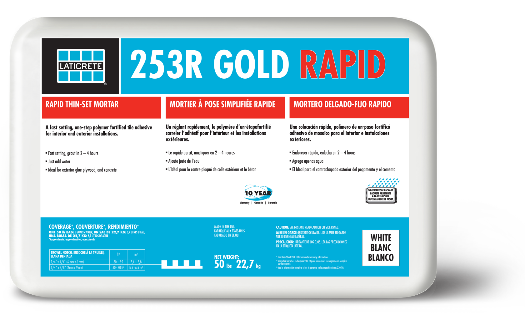 253R Gold Rapid