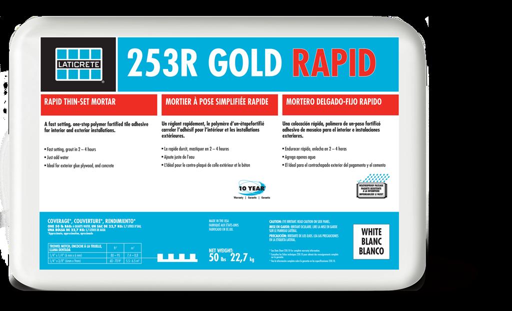 253r Gold Rapid Laticrete