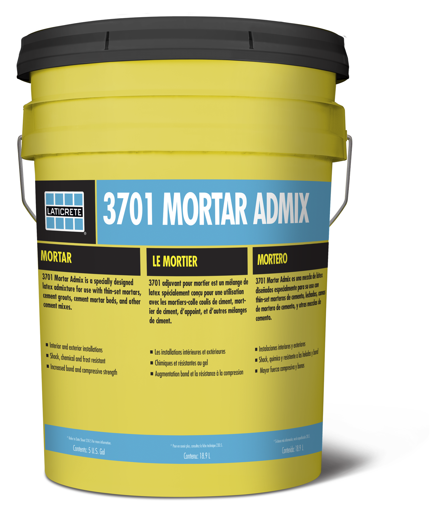 Mortar Admix LATICRETE - Custom blend thin set mortar
