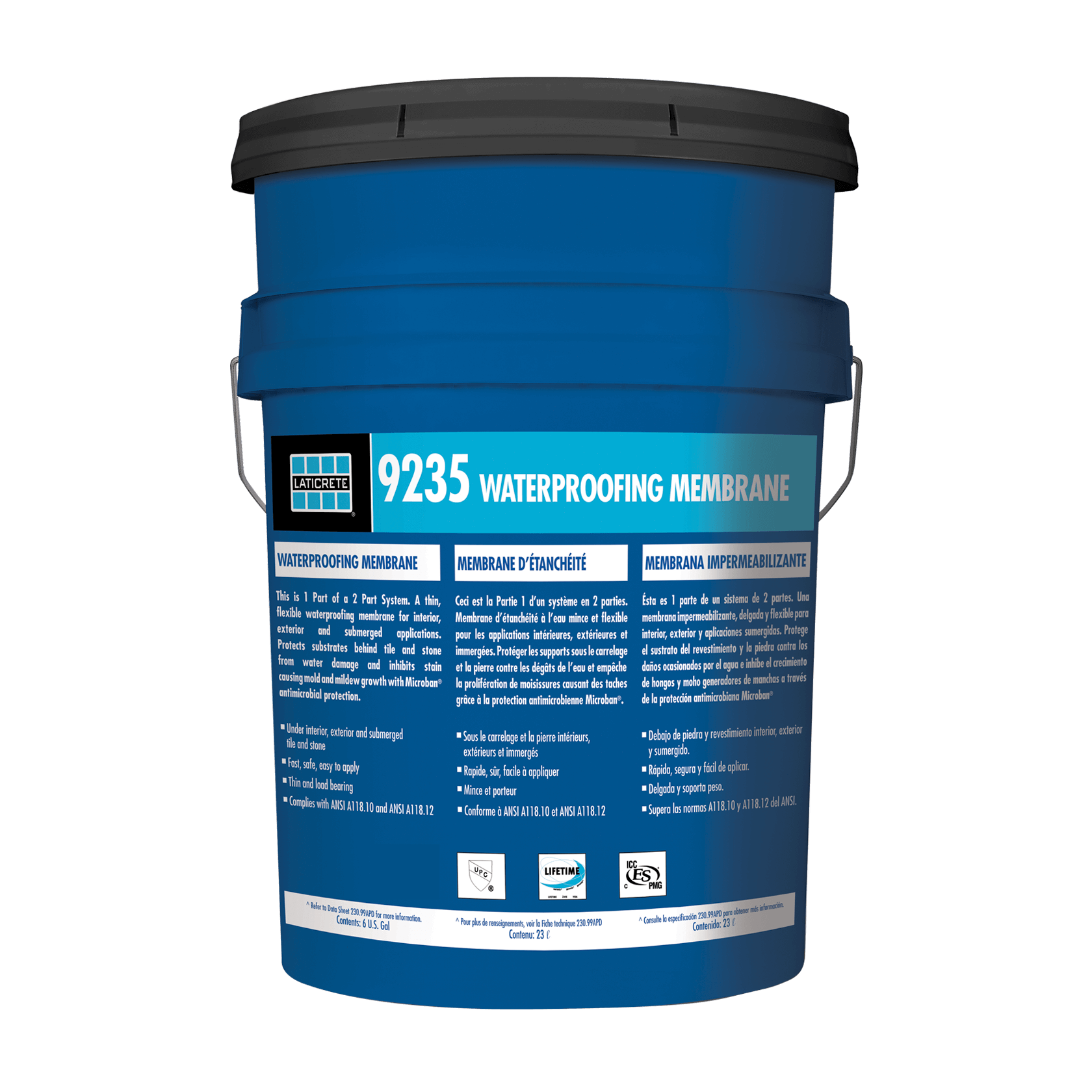 9235 Waterproofing Membrane Laticrete