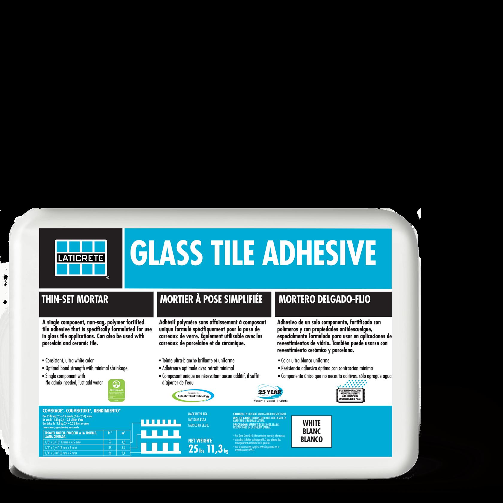 Glass Tile Adhesive Laticrete