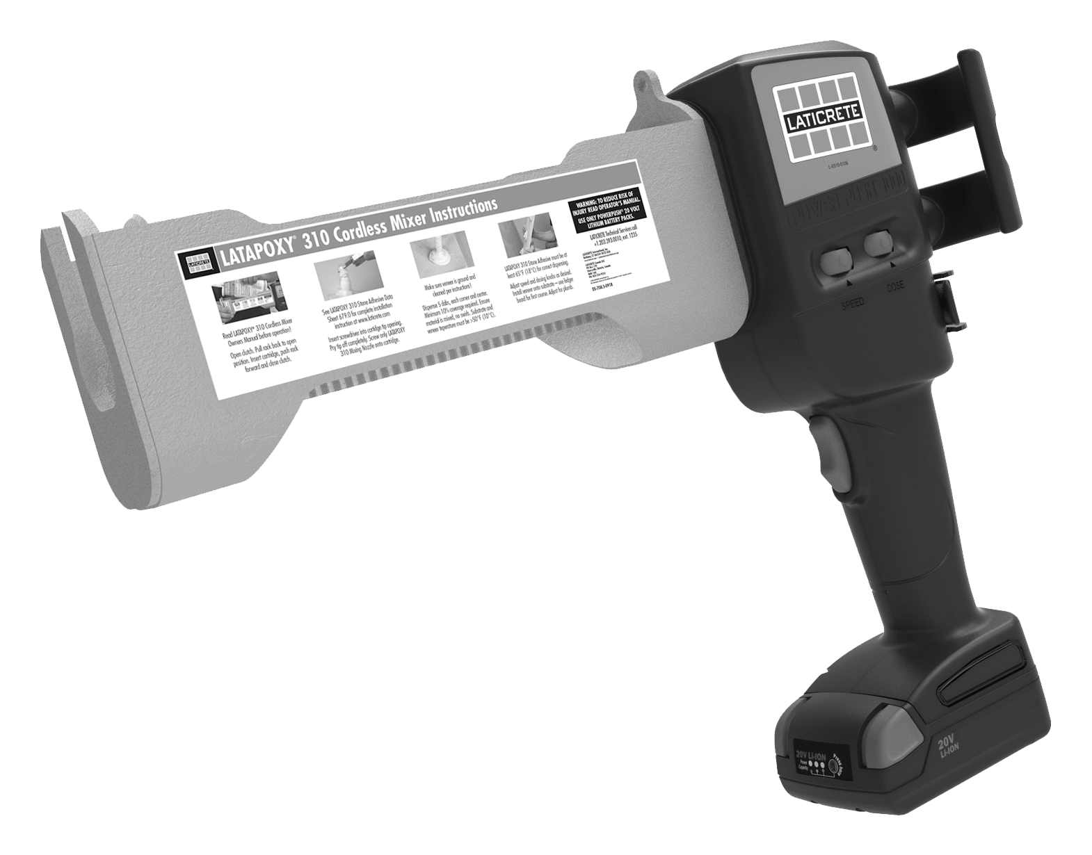 LATAPOXY® 310 Cordless Mixer