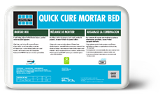 Quick Cure Mortar Bed