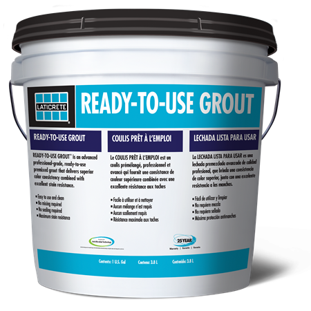 Ready To Use Premixed Grout Laticrete