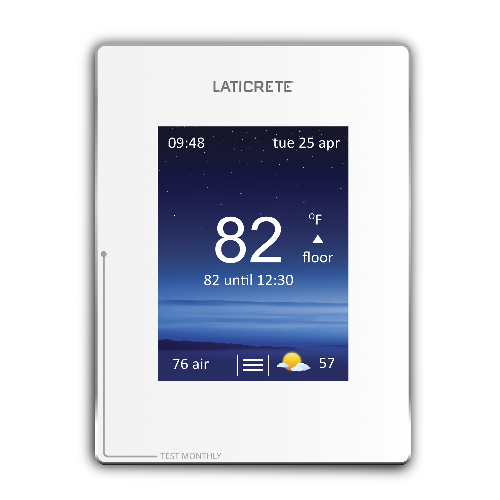 strata heat thermostat laticrete rh laticrete com Line Voltage Thermostat Electric Heat Thermostat