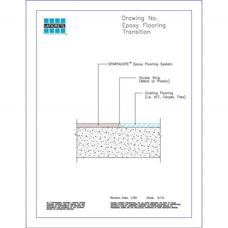 Epoxy flooring transition HB