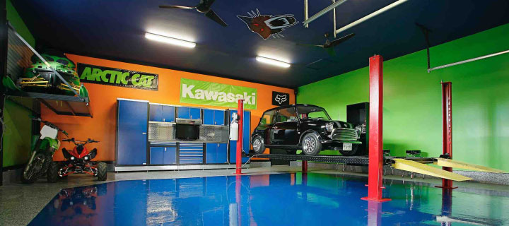 SPARTACOTE coatings for service bays