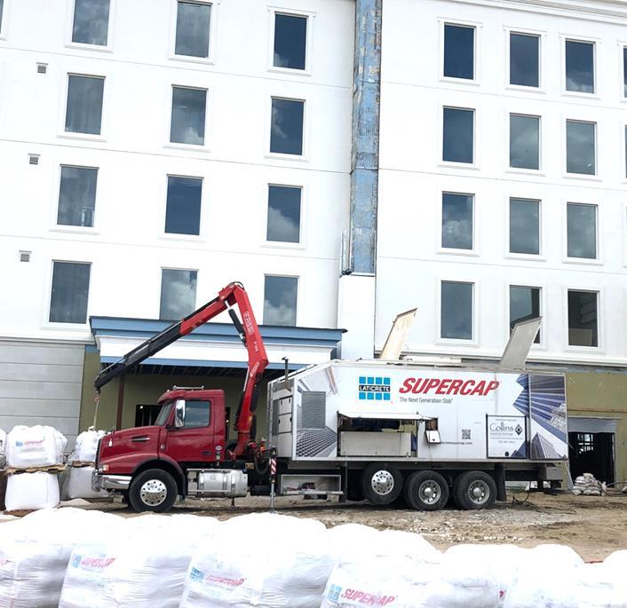SUPERCAP Pump Truck from LATICRETE