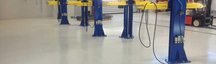 Polyaspartic Industrial Concrete Floor Coatings - LATICRETE