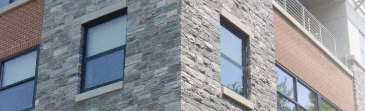 Masonry veneer installation system laticrete for How to install stone veneer over exterior brick