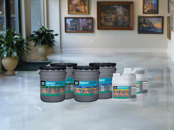 Resinous Flooring & Decorative Coatings - Products