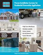 LATICRETE Solutions for Residential Renovations