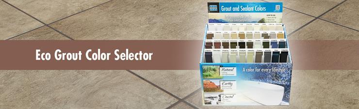 LATICRETE Eco Paper Grout Color Selector