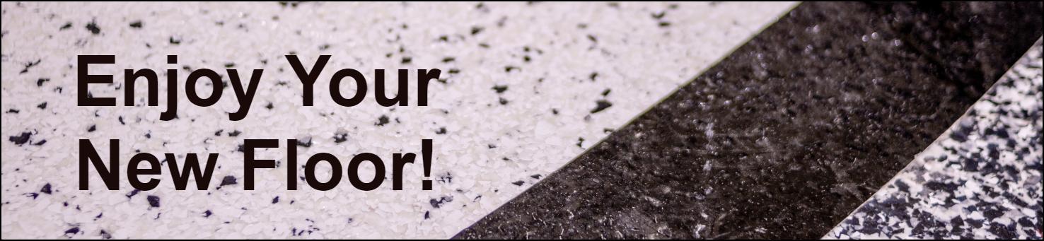 Enjoy your new SPARTACOTE resinous floor