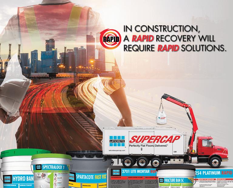 LATICRETE Rapid Solutions Contractor Rebate 2020