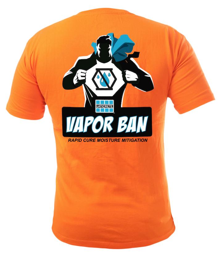 VAPOR BAN Contractor Promo Logo