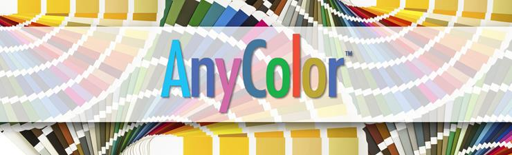 AnyColor program by LATICRETE offers grout and silicone sealant options