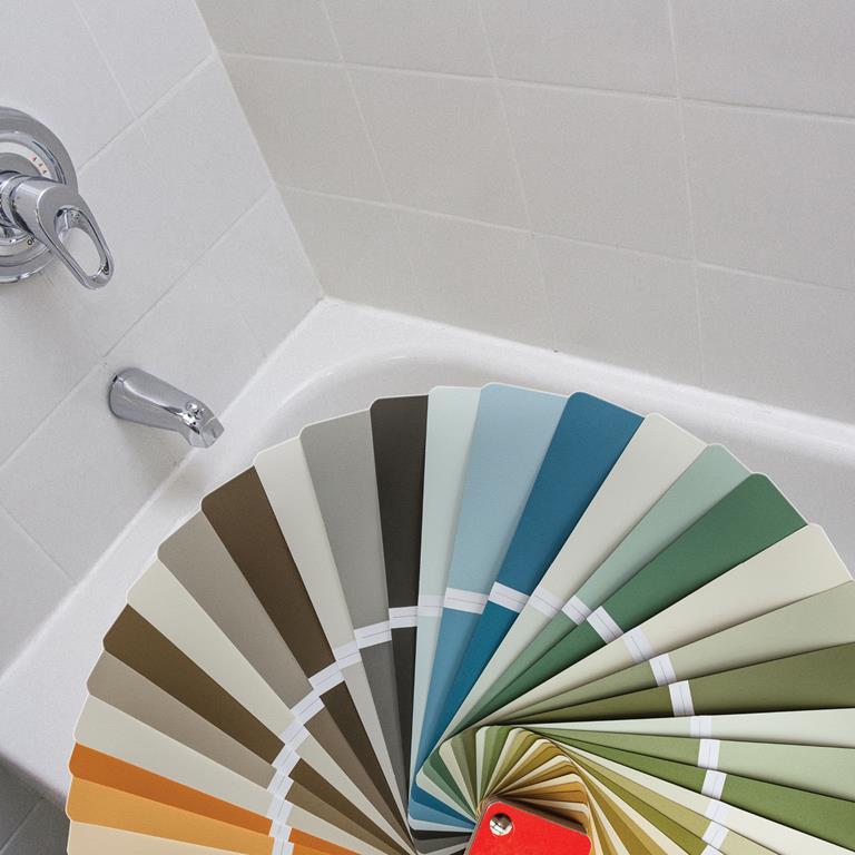 LATASIL silicone sealant color matching program by LATICRETE