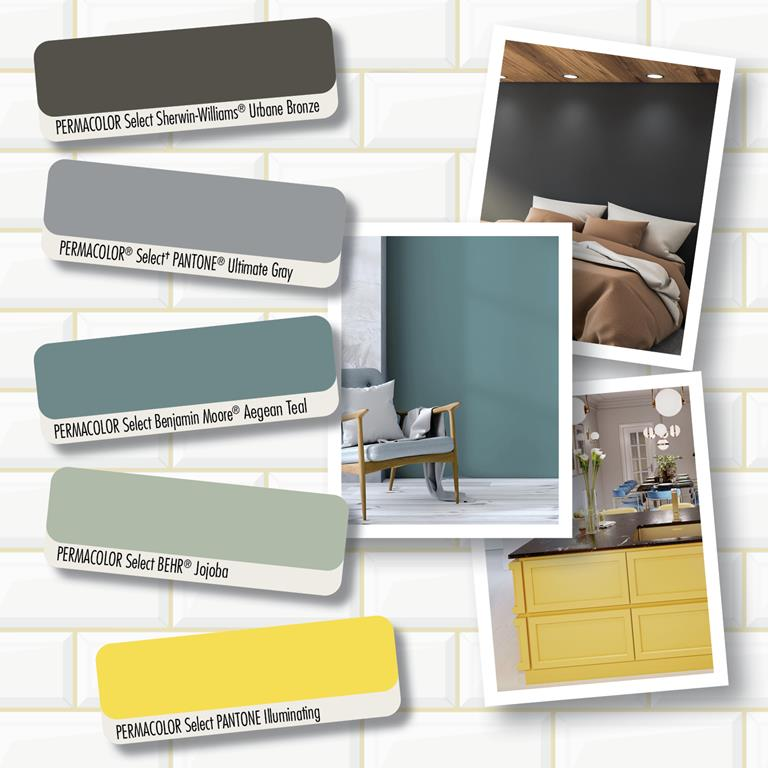 PERMACOLOR Select Special Edition Grout colors by LATICRETE