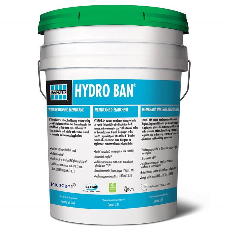 HYDRO BAN Waterproofing Membrane by LATICRETE