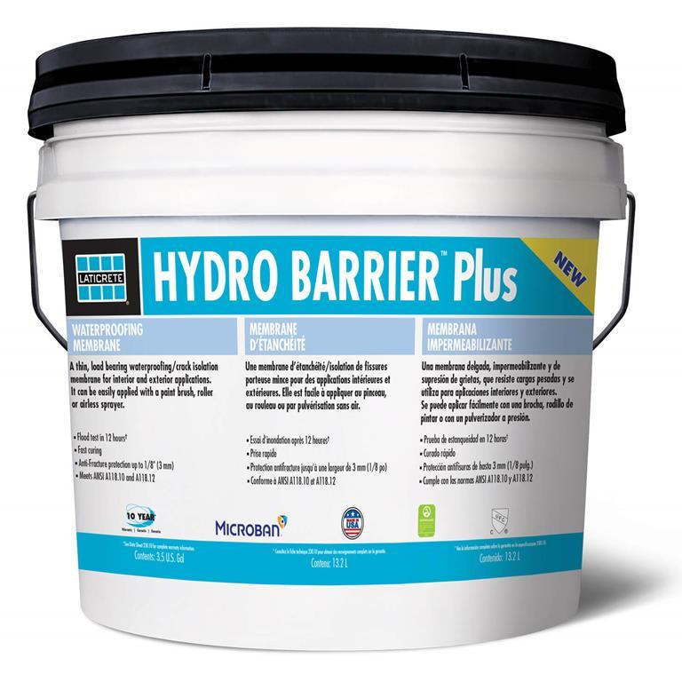 HYDRO BARRIER Plus Waterproofing Membrane by LATICRETE