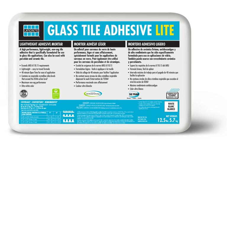 Glass Tile Lite Adhesive from LATICRETE