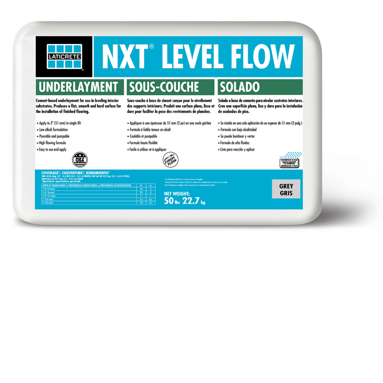 NXT Level Flow by LATICRETE