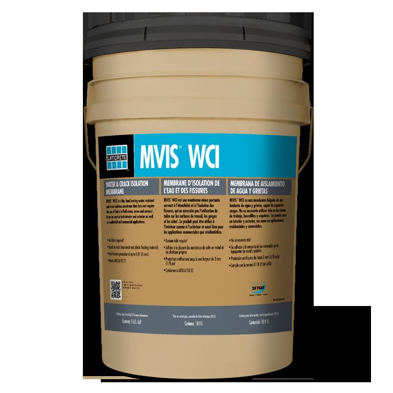 MVIS WCI Water Crack Isolation by LATICRETE