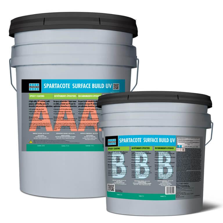 SPARTACOTE Surface Build UV - epoxy floor coating
