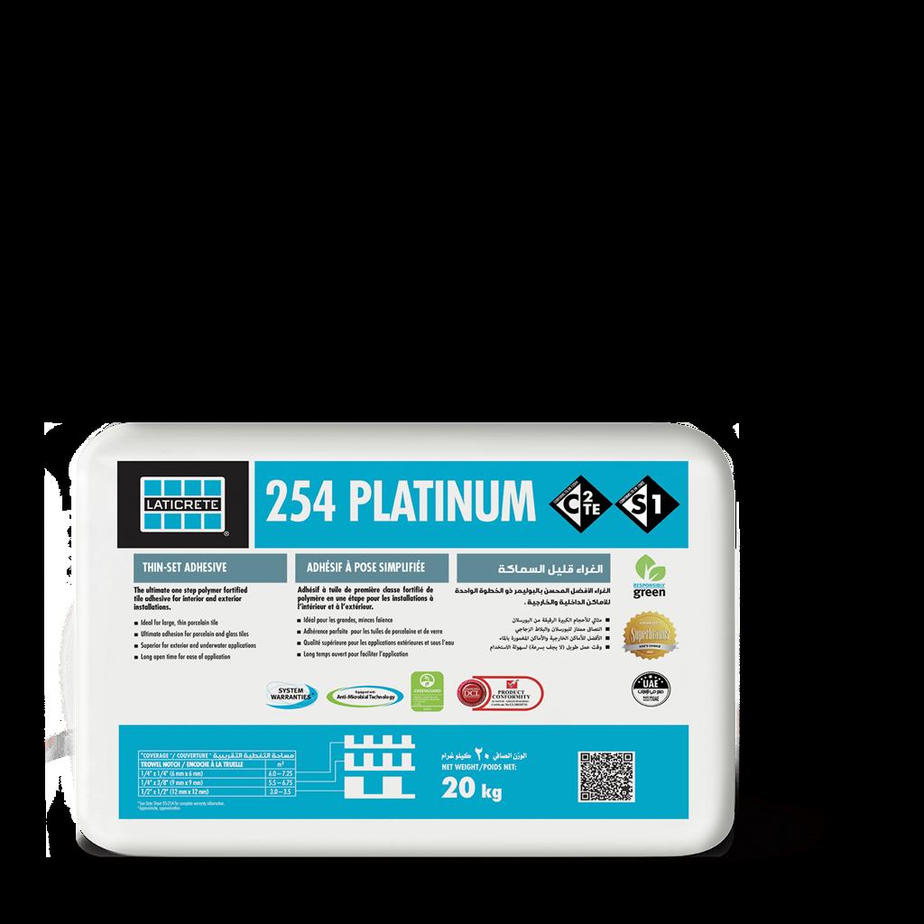 254 Platinum Laticrete