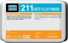 211 Crete Filler Powder