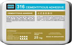 316 Cementitious Adhesive