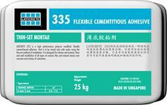 335 Flexible Cementitious Adhesive