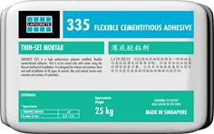 335 Flexible Cementitious Adhesive