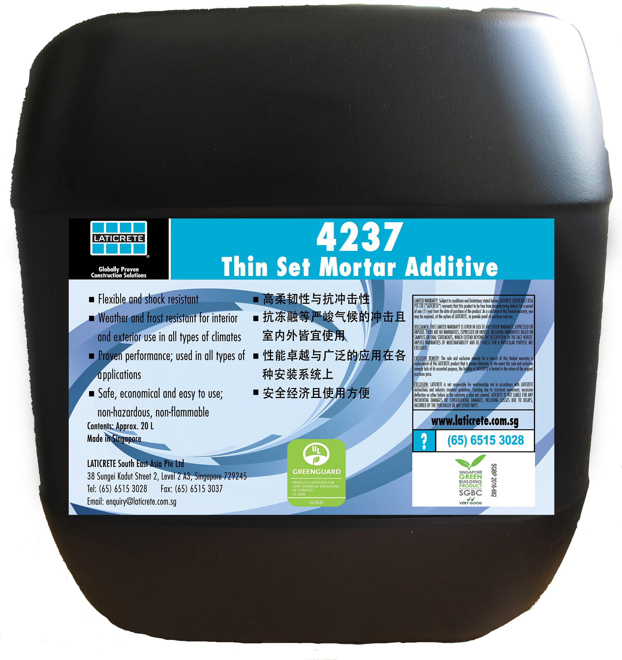4237 Thin Set Mortar Additive