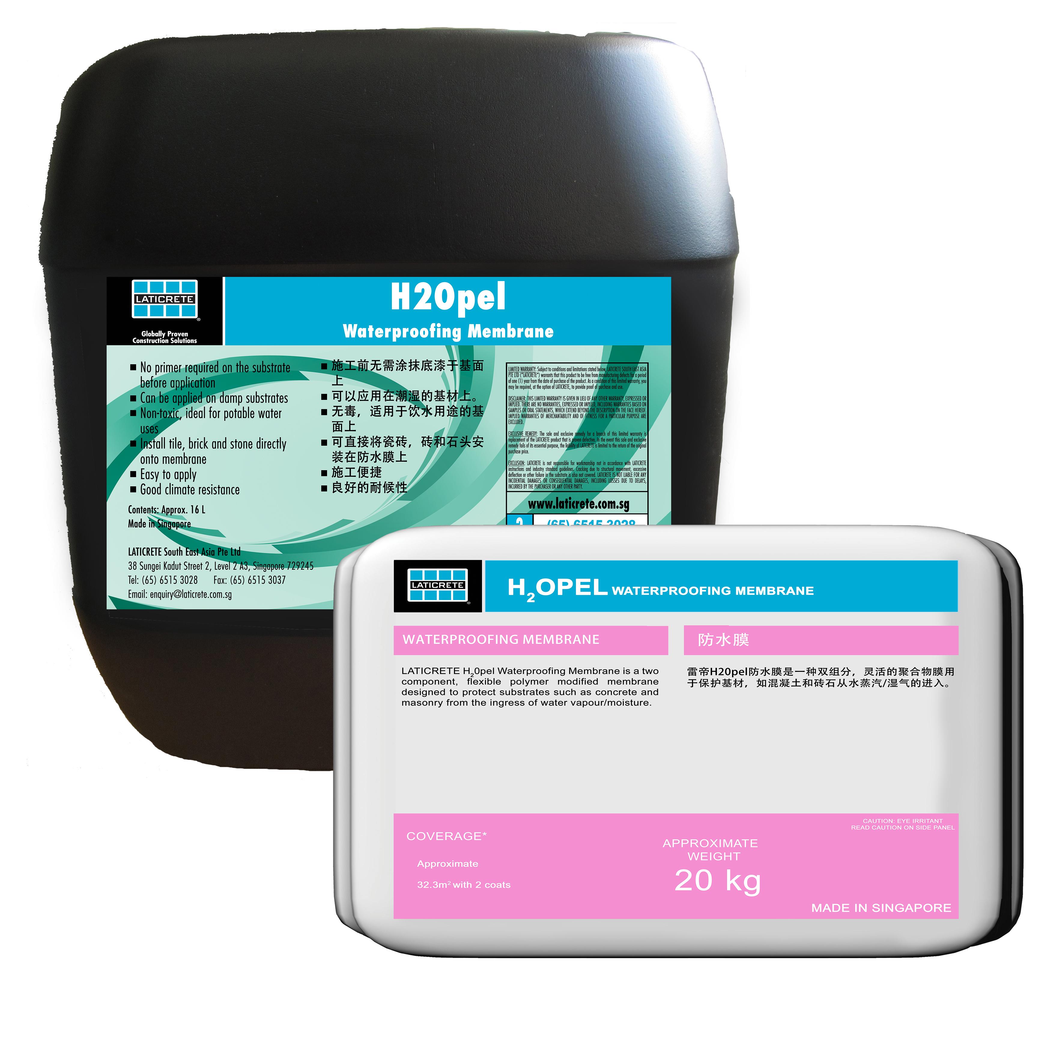 H2Opel Waterproofing Membrane