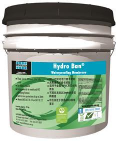 Hydro Ban Waterproofing Membrane