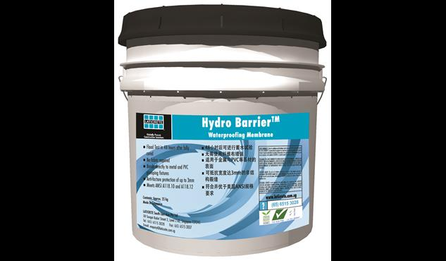 Laticrete Hydro Barrier Waterproofing Membrane Is A Liquid Lied Self Curing Rubber Polymer Which Can Be Easily To Form Flexible Seamless